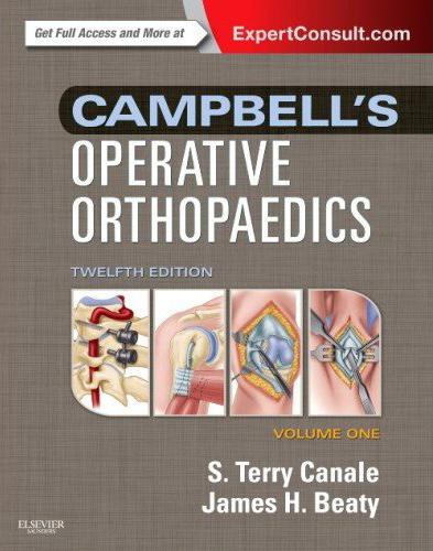 Campbell's Operative Orthopedics, 12. udgave – Mosby